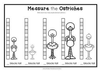 Non Standard Measurement - Length Worksheets for ...