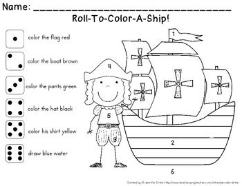 Columbus Day Fun For Kids In Prek 1 Poem Printables Craft Cc Aligned Christopher Columbus Activities Columbus Day Cool Kids