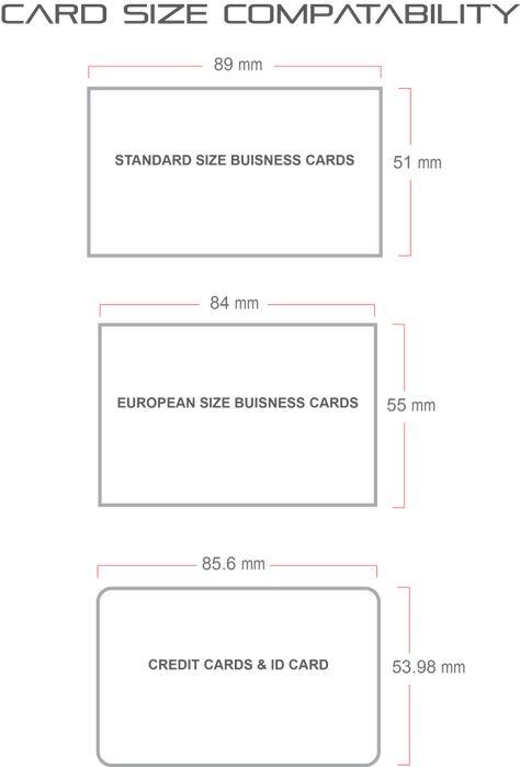 Visitenkarte Größe Mm Australien Sowie Business Karten Größe