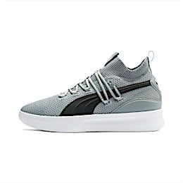 Men's PUMA Clyde Court Basketball Shoe Sneakers in Quarry Grey size 10.5