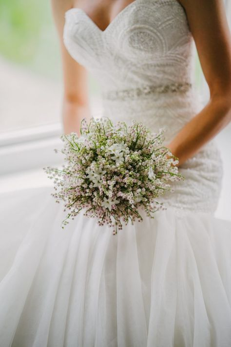 Lilly of the Valley Bridal Bouquet