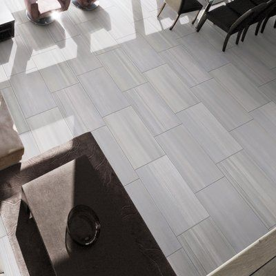 Msi Watercolor 12 X 24 Porcelain Stone Look Wall Floor Tile In 2020 Flooring Tile Floor Color Tile