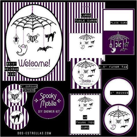 stripes Spooky Mobile // Gender...