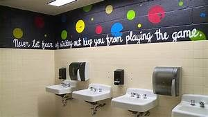 Pa Paints Messages On School Bathroom Walls To Inspire