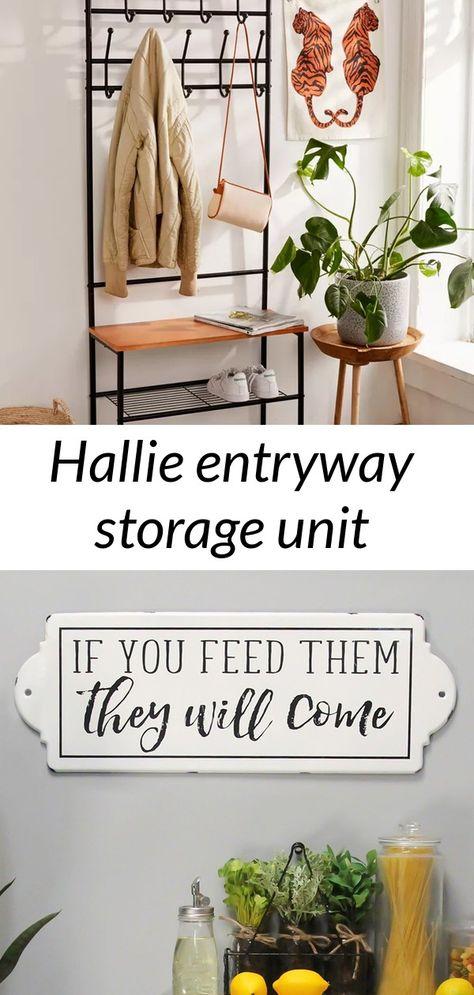 Hallie entryway storage unit