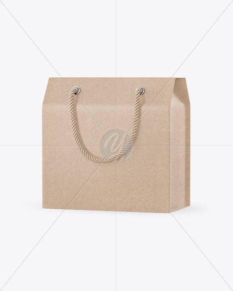 Download Kraft Paper Box With Handles Mockup In Box Mockups On Yellow Images Object Mockups In 2021 Paper Box Kraft Paper Box Mockup
