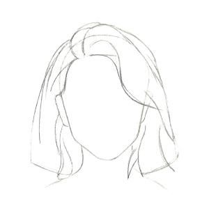 3 Hairstyles You Ll Love To Draw Easy Hair Drawings How To Draw Hair Girl Hair Drawing