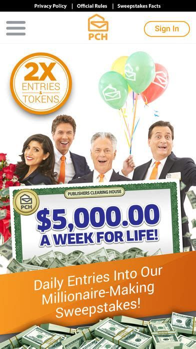 Publisher Clearing House Login