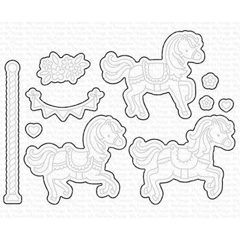 Impression Obsession craft die Patchwork Elephant