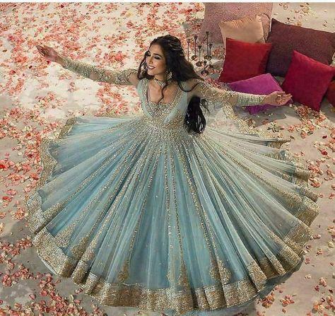 Indian Anarkali Bollywood Pakistani Designer Party wear Salwar Kameez Dress Suit #Unbranded #Anarkali #PartyCocktail