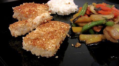 Dinan keittiö: Seesamitofu