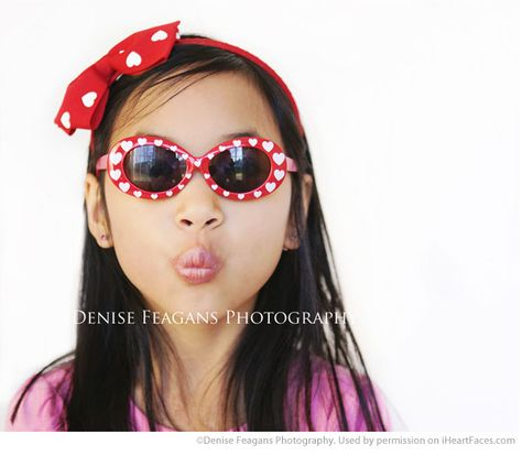 Valentines Day Photography Inspiration - Childrens Portrait Photography by Denise Feagans Photography via iHeartFaces.com