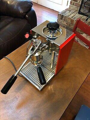 Olympia Express 67 Cremina Espresso Machine 1989 Red New Gaskets And Seals Espresso Machine Espresso Coffee Geek