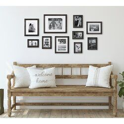 10 Piece Sturminster Gallery Picture Frame Set In 2020 Gallery Wall Kit Picture Frame Sets Picture Frame Gallery