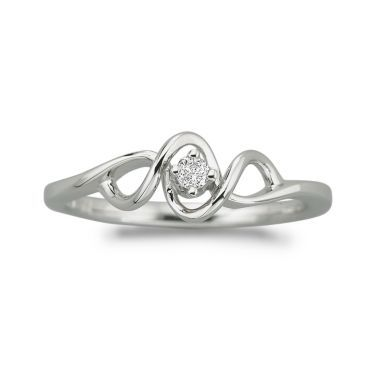 Jcpenny S Promise Ring Promise Rings Rings Sterling Silver Rings