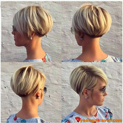 91 Best Trendy Inverted Bob Haircut, Inspirational Reverse Bob Haircuts S Haircuts Ideas, 38 Trendy Inverted Short Bob Haircuts Short Bob Cuts, 50 Trendy Inverted Bob Haircuts In 2019 Hairstyles, 41 Best Inverted Bob Hairstyles. Bob Hairstyles For Thick, Cute Short Haircuts, Bob Hairstyles For Fine Hair, Summer Hairstyles, Medium Hairstyles, Ladies Hairstyles, Trendy Haircuts, Short Inverted Bob Haircuts, Elegant Hairstyles