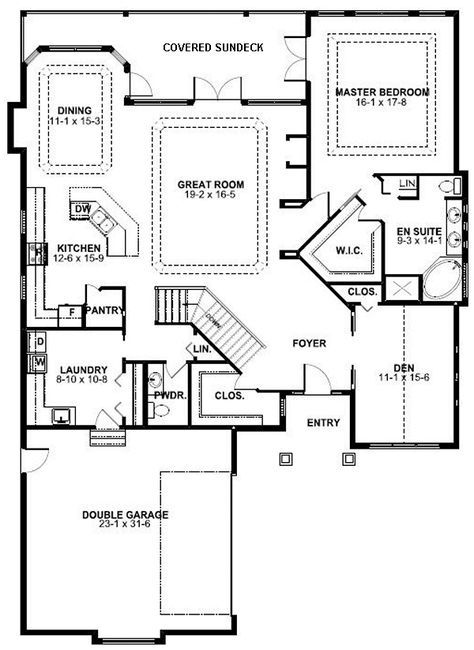 House Plan Chp 46190 At Coolhouseplans Com House Plans Best House Plans Dream House Plans