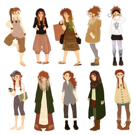 WOW! Been awhile, but I finally have 10 done. I wish I did these more often because I look at these outfits and I can remember exactly what I did that day and some of them were really nice memories...