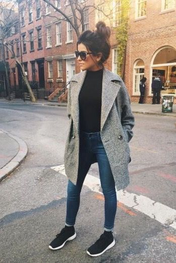 Inspirational Ideas For Autumn Fashion Outfits Street Style Casual Simple Winter Outfits, Best Casual Outfits, Outfits For Teens, Spring Outfits, Outfit Winter, Casual Winter, Uni Outfits, Holiday Outfits, Casual Summer
