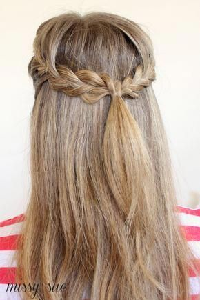 Half Up French Braids Longhairstyleshalfup Braids For Long Hair