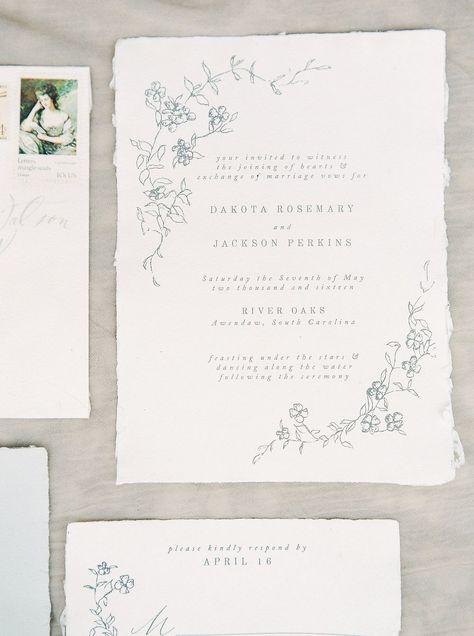 Garden Style Wedding Ideas in South Carolina