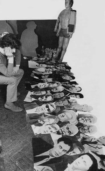 Now THIS is historic!  The making of the Sgt. Pepper's Album cover...