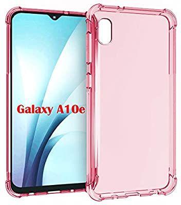 Amazon Com Pushimei Samsung A10e Case Galaxy A10e Case Soft Tpu Crystal Transparent Slim Anti Slip Full Body Pro Samsung Galaxy Phone Cases Protective Galaxy