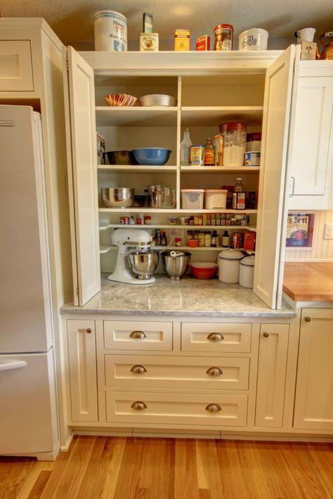 Kitchen Cabinet Inspiration, Kitchen Cabinet Interior, Kitchen Cabinet Layout, Kitchen Pantry Design, Kitchen Cabinet Storage, Custom Kitchen Cabinets, Custom Kitchens, Kitchen Redo, Home Kitchens