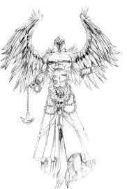Angel Warrior Tattoo Sketch: Real Photo Pictures Images and Sketches .