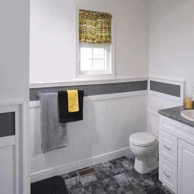 The Home Depot Wainscoting Bathroom Wainscoting Panels White Wainscoting