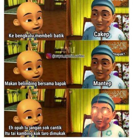 63 Ideas For Memes Indonesia Upin Ipin In 2020 Cartoon Jokes Funny Memes New Memes