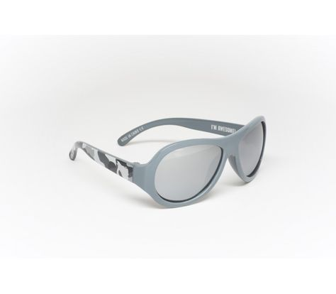 c7e5cf1fe10 Babiators Polarized Galactic Grey Camo Kids Sunglasses