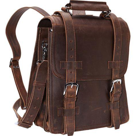 Vagabond Traveler Leather Travel Backpack Brief, Vintage Distress Vintage Leather Backpack, Brown Leather Backpack, Leather Bags, Brown Backpacks, Vintage Backpacks, Leather Backpacks, Cuir Vintage, Vintage Bags, Vintage Travel