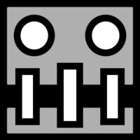 airborne robots geometry robots and robot - Geometry Dash Icon Coloring Pages