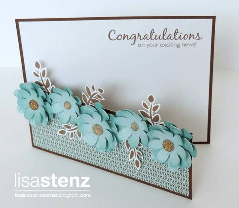 Lisa's Creative Corner: CTMH Pathfinding Floral Card Make a garden gate card!