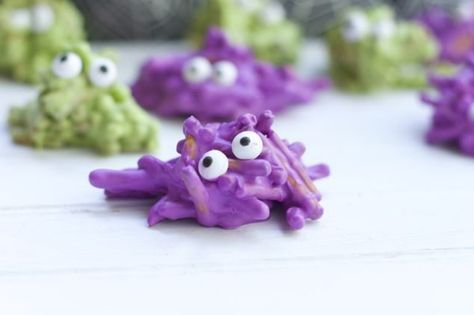 Chocolate Covered Pretzel Monsters - The Best Spooky Halloween Food on Pinterest - Photos