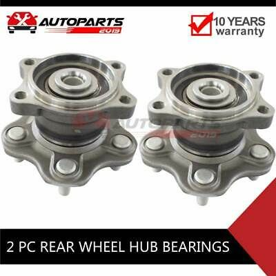 Advertisement Ebay Pair Rear Wheel Hub Bearing For Nissan Altima Maxima Non Abs 2004 2005 2006 With Images Nissan Altima Altima Ebay