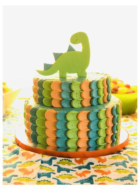 Dinosaur First Birthday, 1st Birthday Cakes, 1st Boy Birthday, Boy Birthday Parties, Birthday Ideas, 1st Birthday Cake Designs, 1st Birthday Party Decorations, Birthday Photos, Wedding Decorations