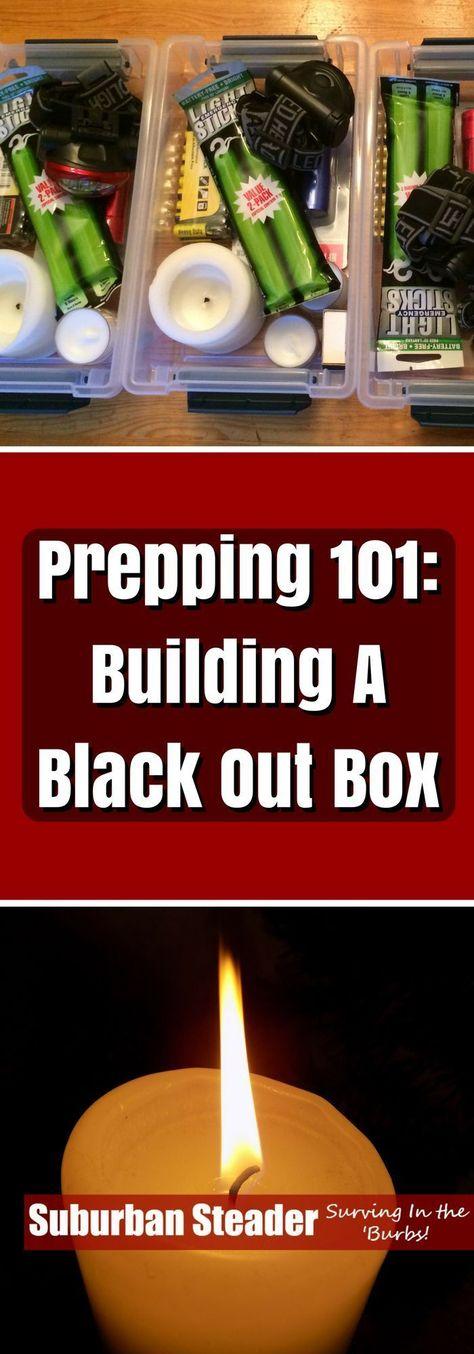 Building A Black Out Box