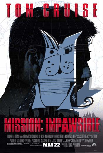 Mission Impossible Movie Poster Fanart Cat Movie Mission Impossible Movie Poster