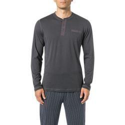 Jockey Herren Langarm-Shirt, Baumwolle, dunkelgrau JockeyJockey