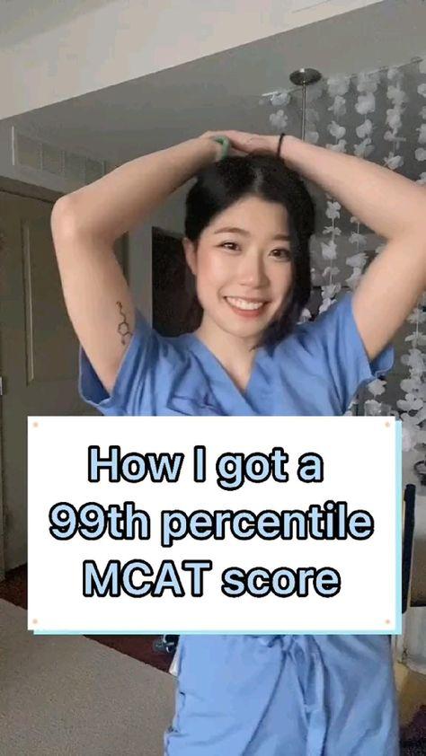 Get a 99th percentile MCAT SCORE!!!