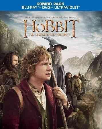 Hobbit-an Unexpected Journey (blu-ray-dvd-3 Disc Combo-ws-16x9-os) - Trivoshop