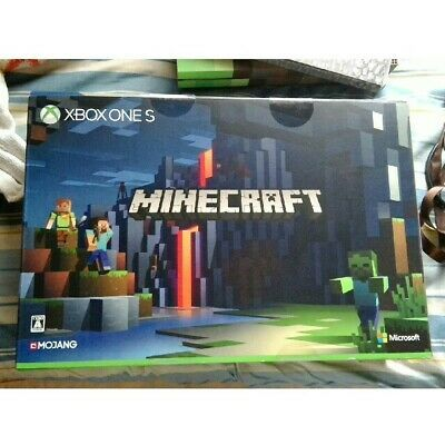 Used Xbox One Console System S 1tb Minecraft Limited Edition