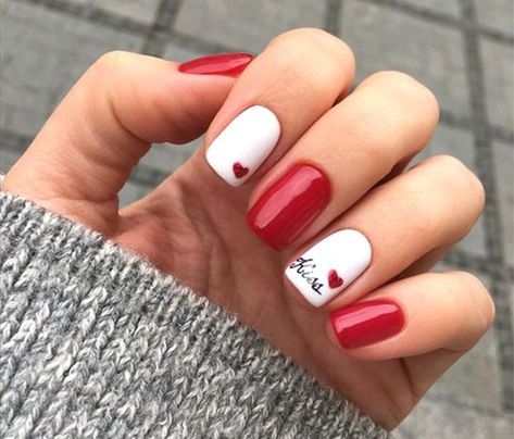 Getting Started with Red Nail Art Designs Nail Art Valentines Day 53 – akkrab.c … - Diy Nail Designs