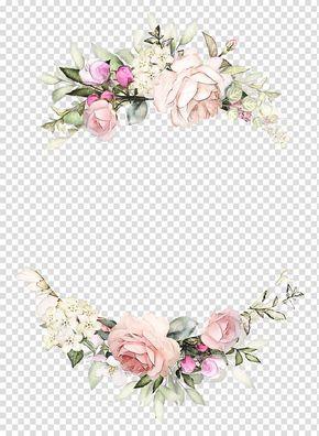 Bingkai Undangan Pernikahan Bunga Png Hd - Info Kece