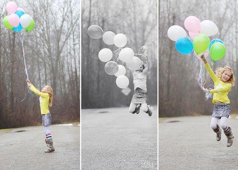nine year old girl birthday balloons