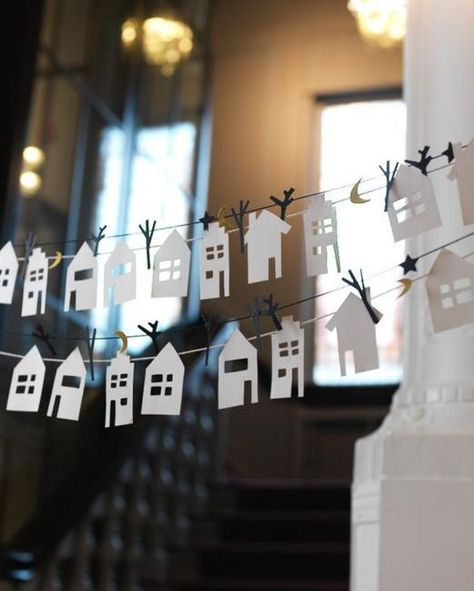 Handmade houses are cute themed decorations that enhance your warm decor look and feel. Art and crafts give a unique character to any home decorating, but little house designs, artworks, embroidery, and appliques make original and meaningful themed decorations that amplify the ambiance of a warm and