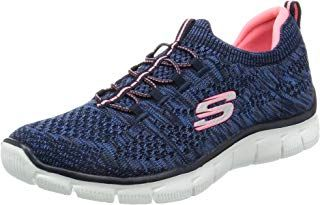 Skechers Damen Empire Sharp Thinking Slip On Sneaker Navy 355 Eu Damen Frau Schuhe Damenschuhe Ge Sneakers Fashion Womens Athletic Shoes Womens Sneakers