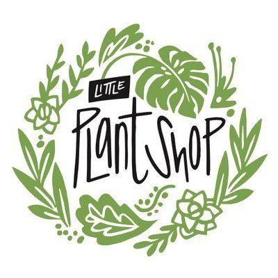 Image Result For Plant Shop Logo Www Littleplantshop Net Plant Logos Shop Logo Nursery Logo Design
